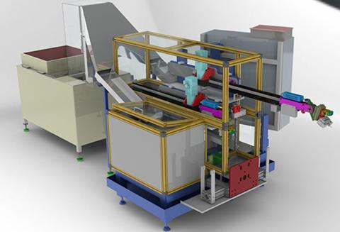 Machine spéciale Chargement centre d'usinage