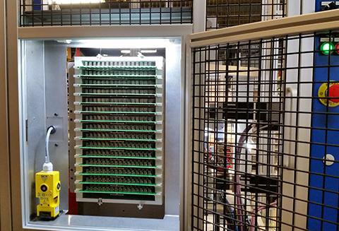 Machine spéciale ADS dépanelisation chargement panel